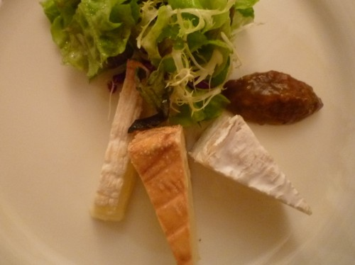 Pont-l'Évêque, Camembert  und Livarot