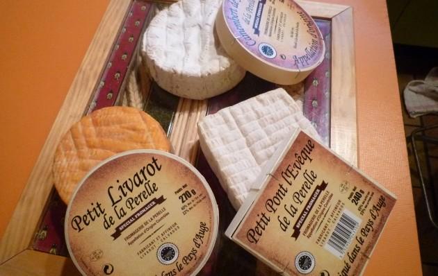 Käse aus der Normandie