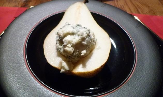 Roquefort mit Birne