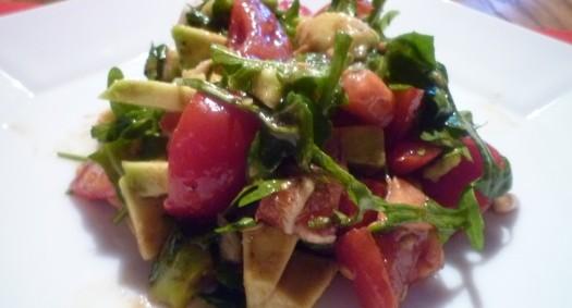 Avocado - Tomatensalat