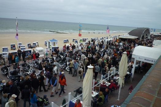 Harley-Davidson Treffen in Westerland