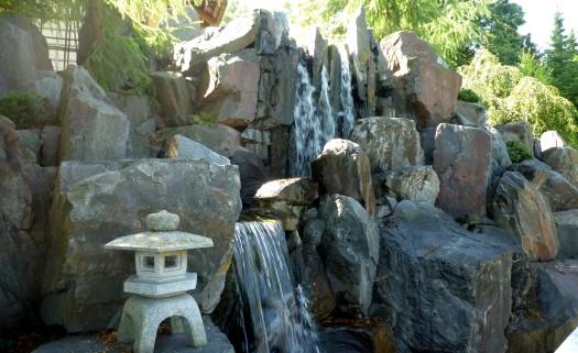 Japanischer Garten - Wasserfall