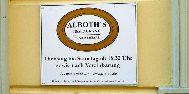 Alboth's Restaurant