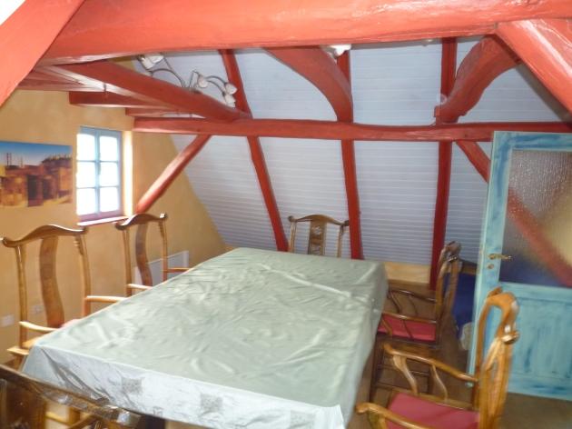 Auberge im Eichsfeld - Gemeinschaftsraum im Dachgeschoss