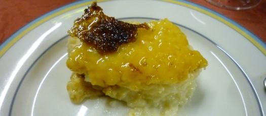 Überbackener Reis