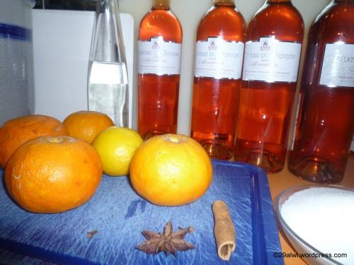 Orangenwein – Vin d'Orange