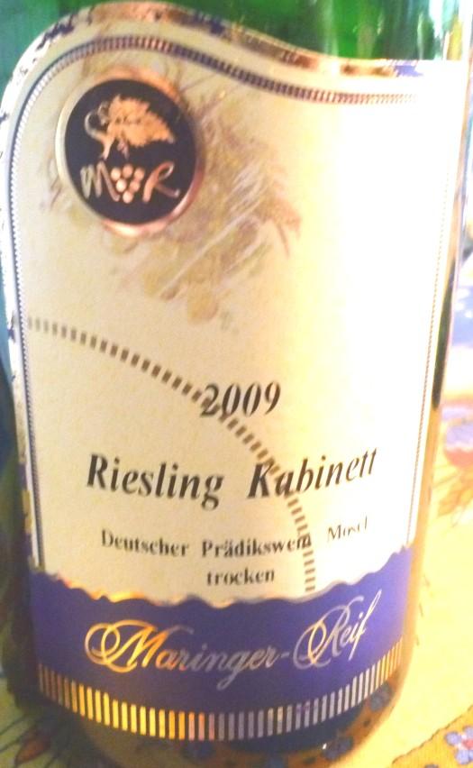 Riesling Maringer -Reif 2009