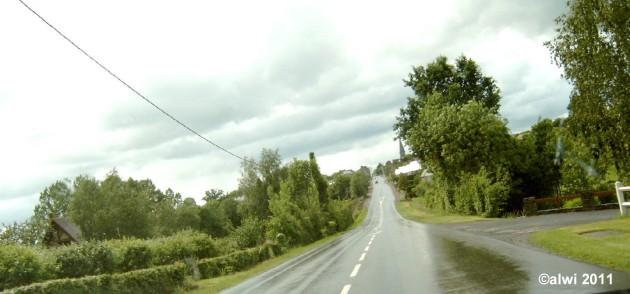 Nasse Straße