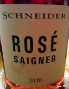 Roséwein - Schneider