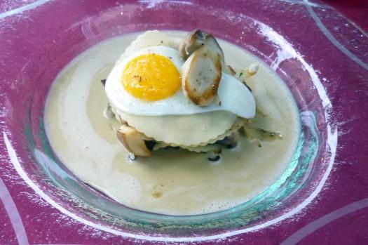 Lasagne von Steinpilzen