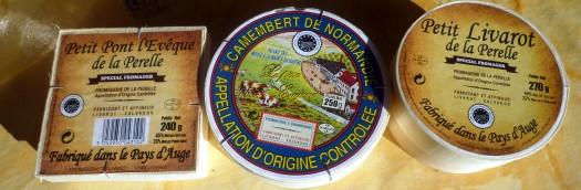 Käse der Normandie