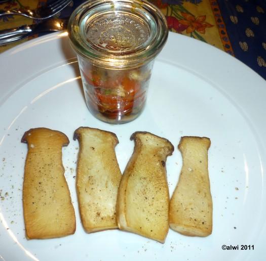Pilz-Tomaten