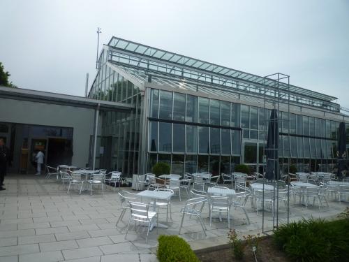 Glashaus Sangerhausen im Rosarium
