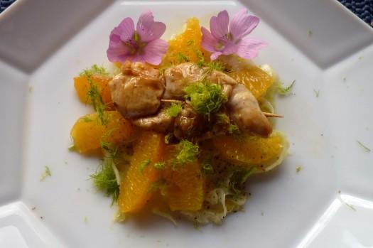 Fenchel-Orangensalat