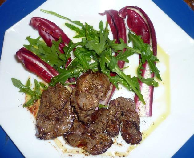 01 Salat mit Leber