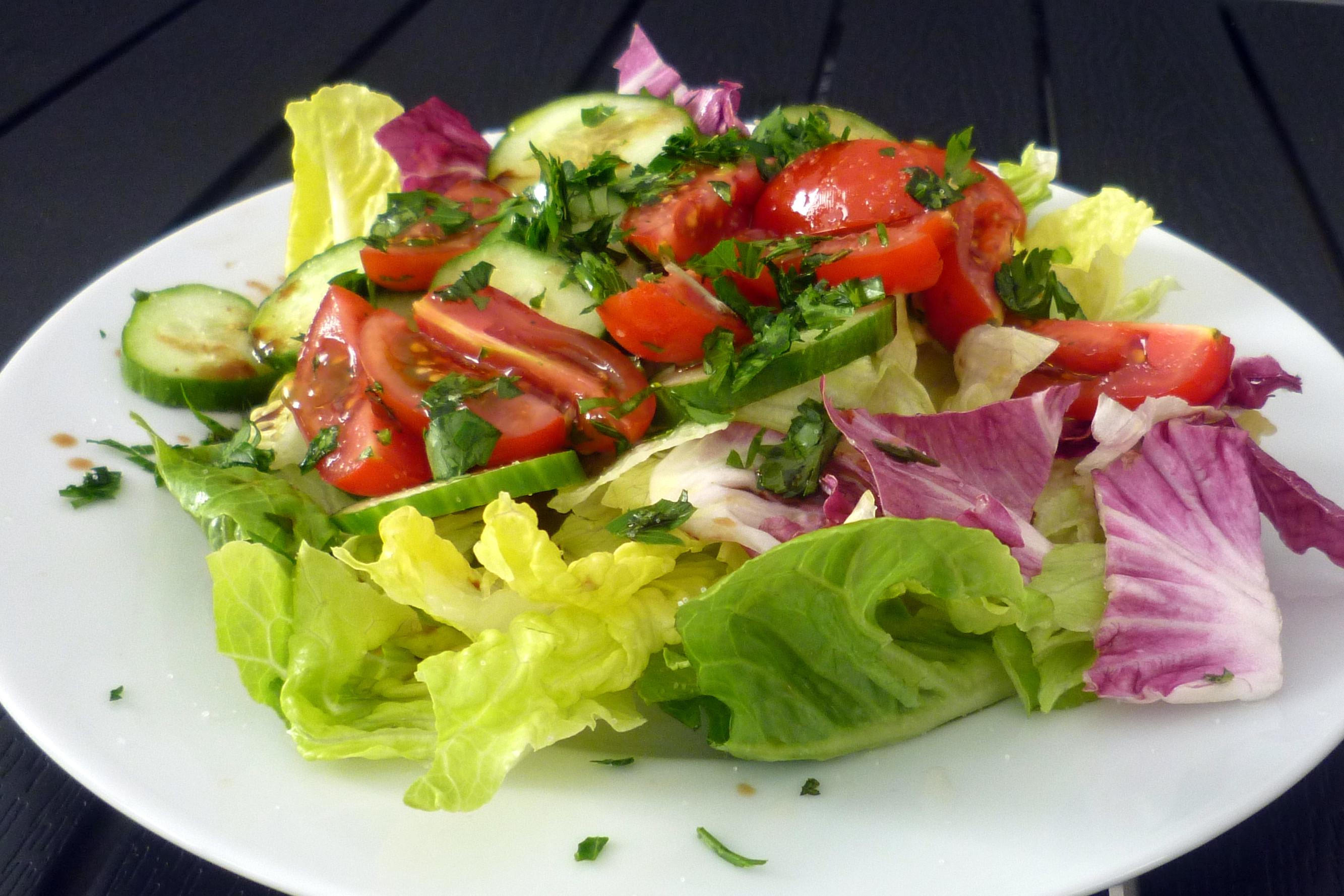 04 Salat zur Dorade
