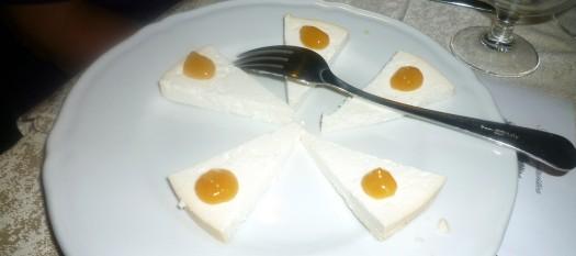 08 Gesalzene Ricotta mit Orangenmarmelade
