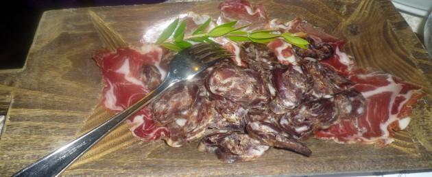 12 Coppa und Salsiccia