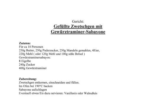 11a Schloss Mahlberg Dessert