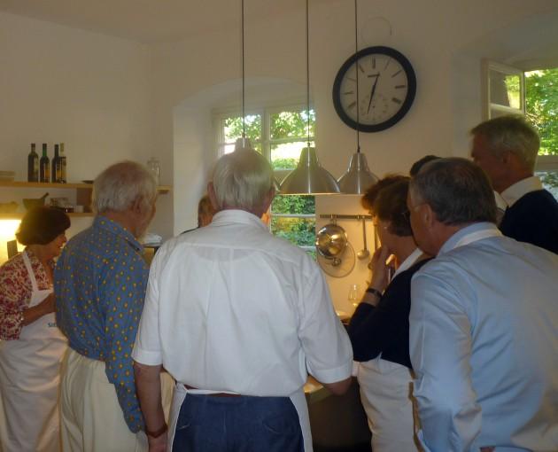 15a Schloss Mahlberg Blick in die Küche