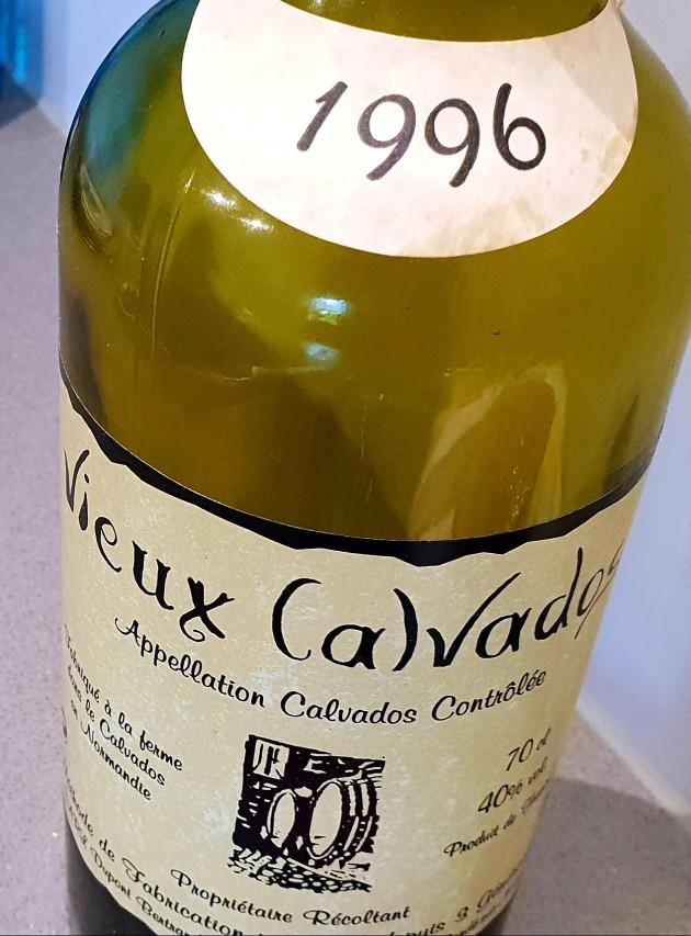 03 Ablöschen mit Calvados